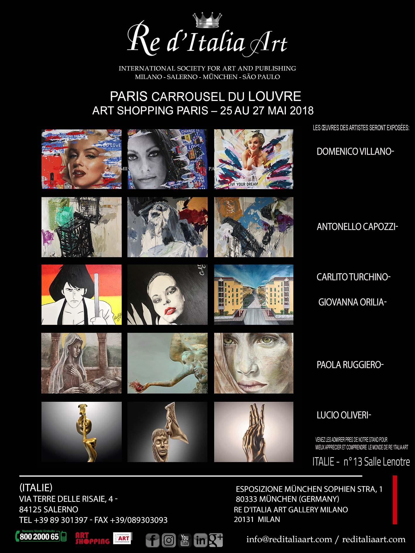 Mostra Carrousel du Louvre 2018